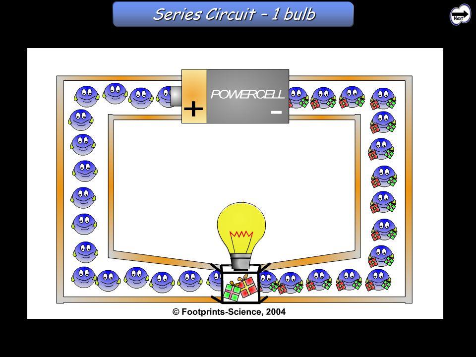 Series Circuit – 1 bulb
