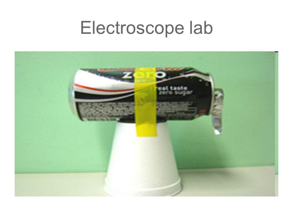 Electroscope lab