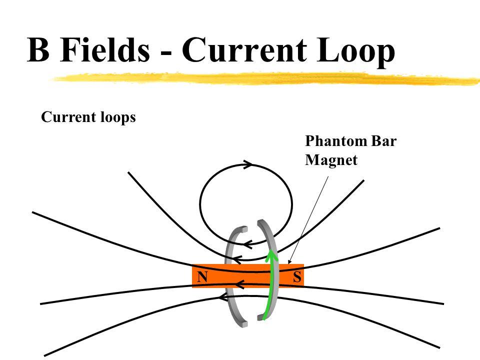Current loops NS B Fields - Current Loop Phantom Bar Magnet
