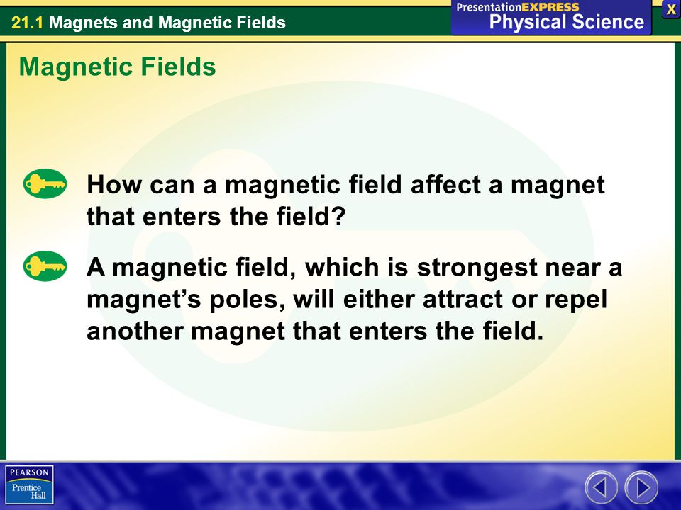 21.1 Magnets and Magnetic Fields Assessment Questions 4.What happens to a permanent magnet if its magnetic domains lose their alignment.