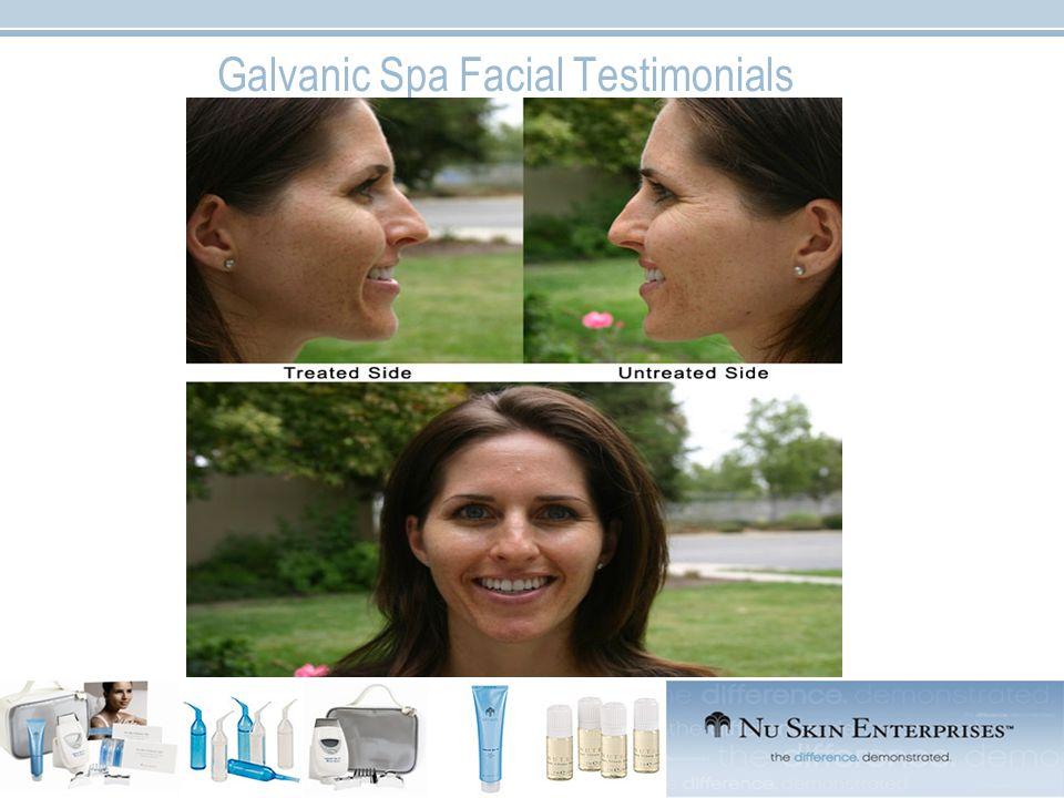 Galvanic Spa Facial Testimonials