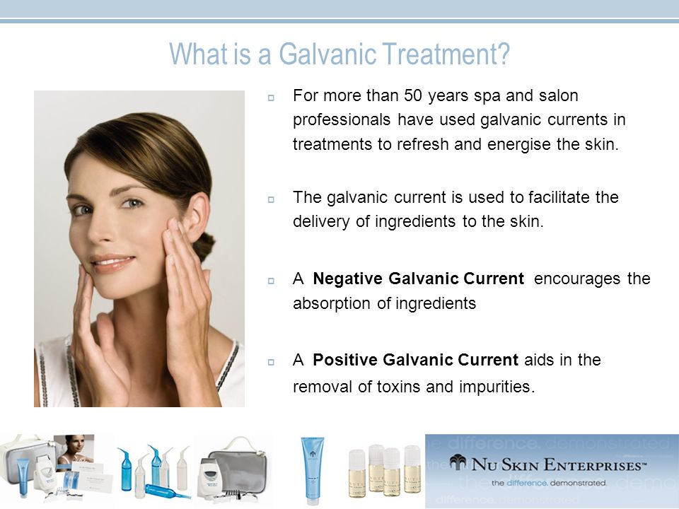 What is a Galvanic Treatment.