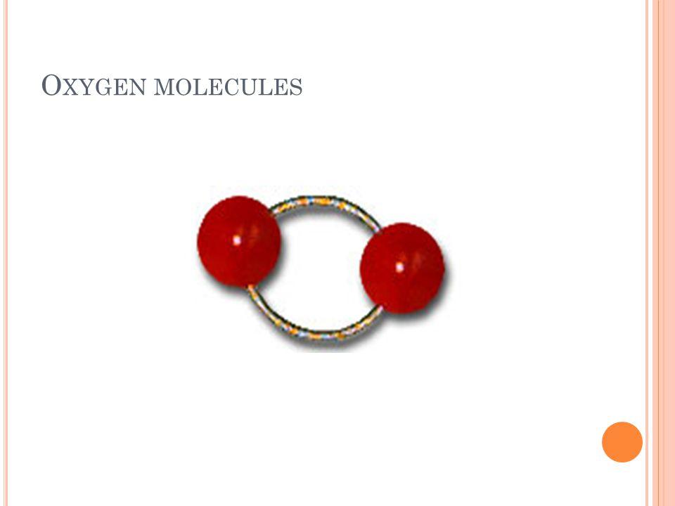 O XYGEN MOLECULES