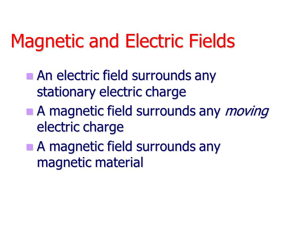 Magnetic Force on a Current Carrying Conductor A force is exerted on a current-carrying wire placed in a magnetic field A force is exerted on a current-carrying wire placed in a magnetic field F = B I l sin  l – length of the conductor I – current in the conductor The direction of the force is given by right hand rule The direction of the force is given by right hand rule