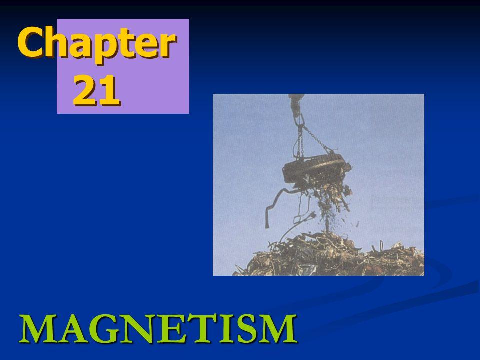 MAGNETISM Chapter 21