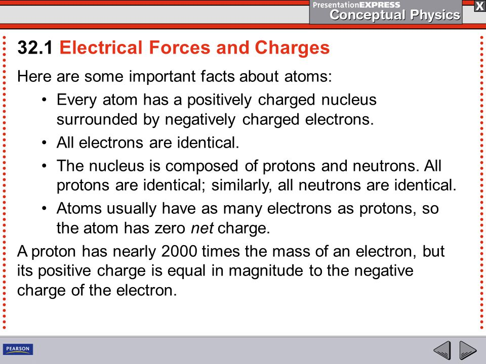 Electrons can also be transferred from one material to another by simply touching.