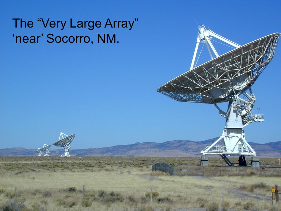 13 The Very Large Array 'near' Socorro, NM.