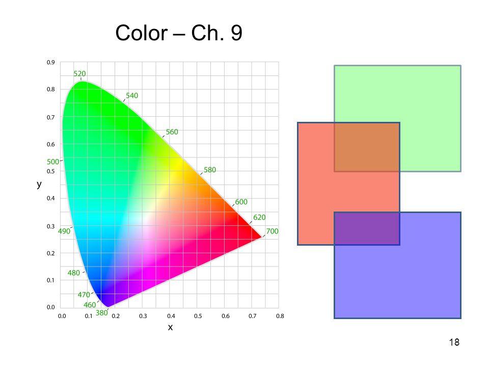 18 Color – Ch. 9