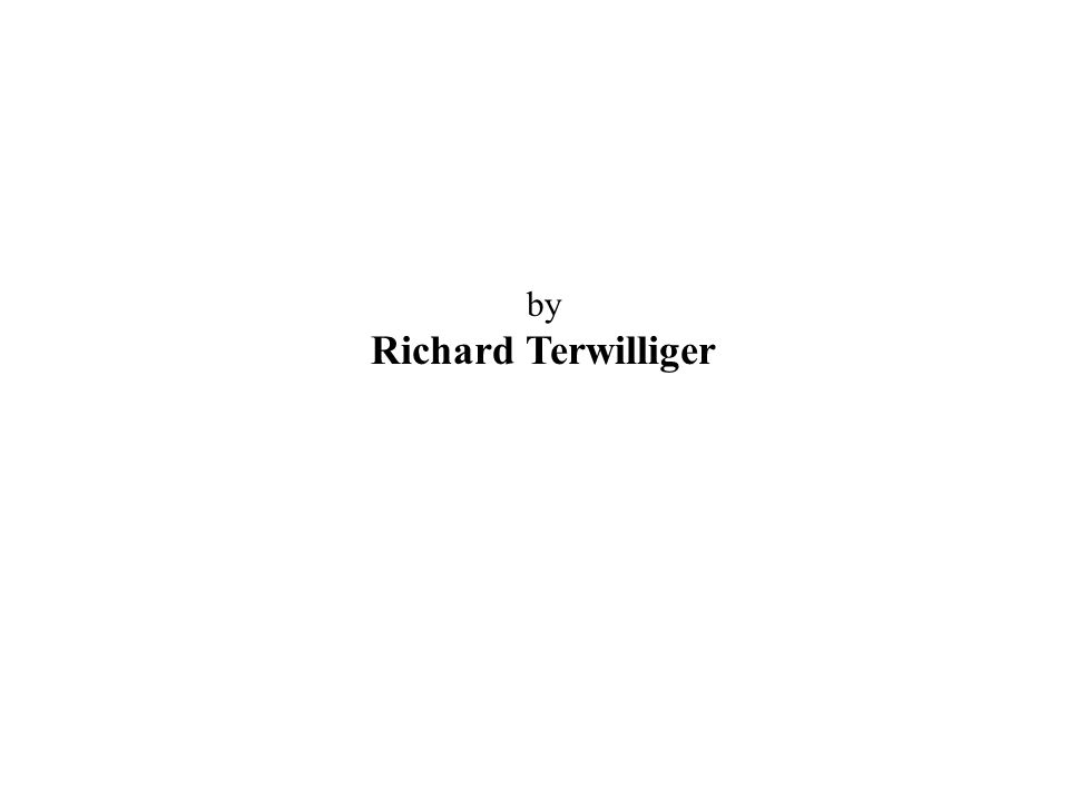 by Richard Terwilliger