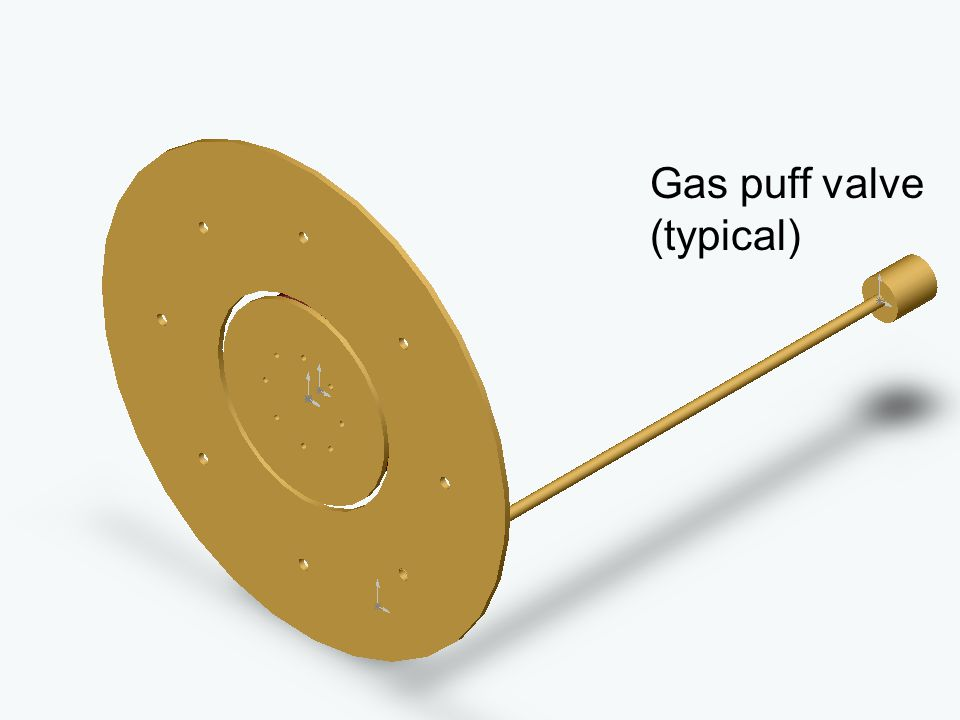 Gas puff valve (typical)