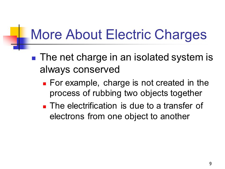 60 Electric Field Lines – Rules for Drawing The lines must begin on a positive charge and terminate on a negative charge In the case of an excess of one type of charge, some lines will begin or end infinitely far away The number of lines drawn leaving a positive charge or approaching a negative charge is proportional to the magnitude of the charge Field lines cannot intersect