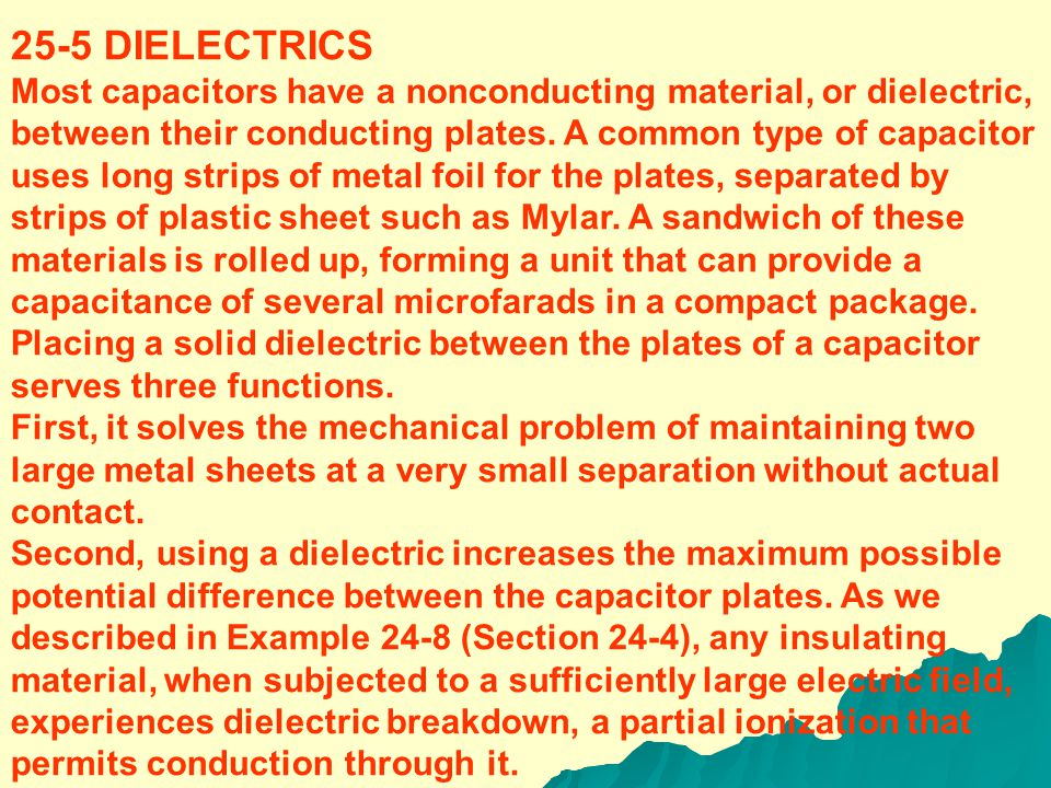 between the plates is just Ad ; hence the energy density is (25-10) From Eq.