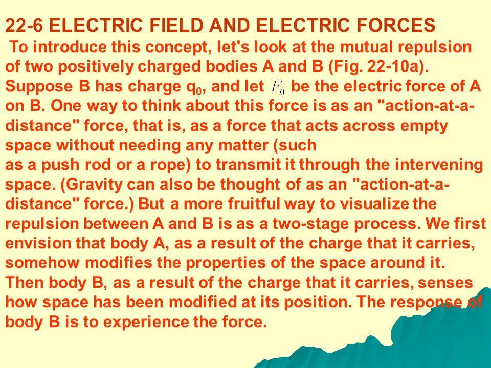 (Coulomb's law: force between two point charges) The constants in Eq. (22-2) are approximately In examples and problems we will often use the approxim