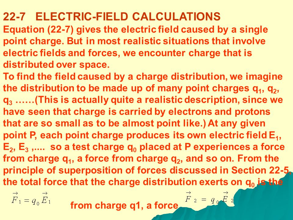 Another situation in which it is easy to find the electric field is inside a conductor. If there is an electric field within a conductor, the field ex
