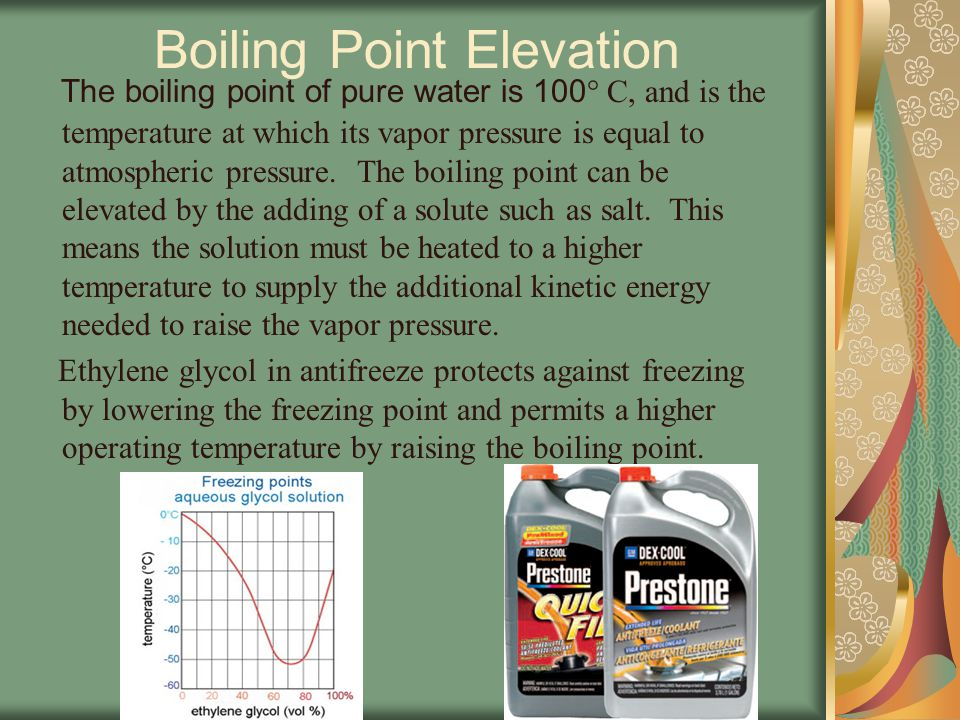 Vapor Pressure Lowering Vapor Pressure is the pressure exerted in a container by liquid particles that have escaped the liquid's surface and entered the gaseous state.