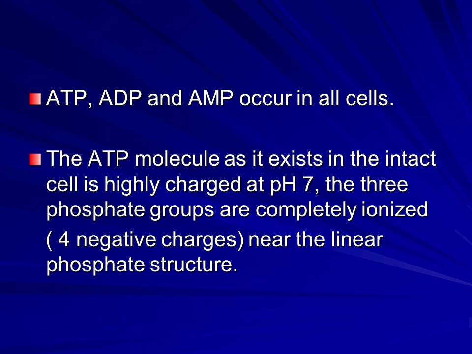 Free energy of ATP vary from one cell to another.