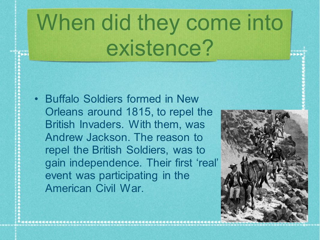 What did they do.The Buffalo Soldiers had duties of sorting mail and stage coaches.