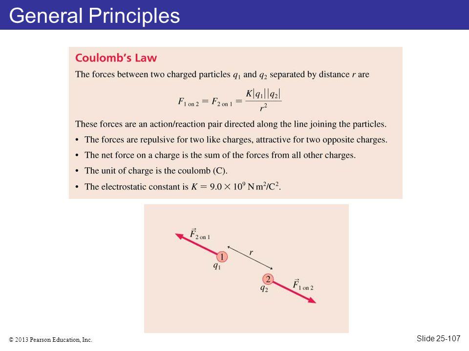 © 2013 Pearson Education, Inc. General Principles Slide 25-107
