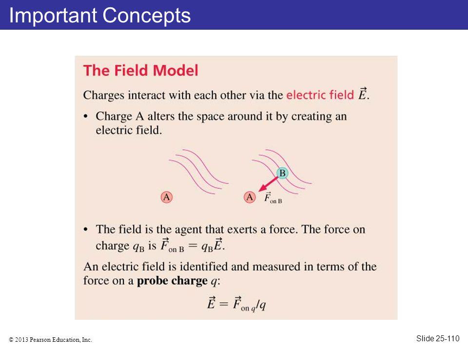 © 2013 Pearson Education, Inc. Important Concepts Slide 25-110