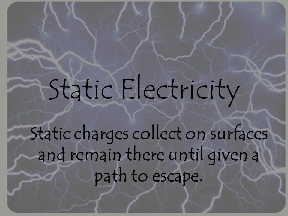 Electrostatic Series A list of some materials listed in order of their electron affinity.
