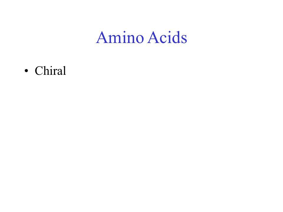 Amino Acids Chiral