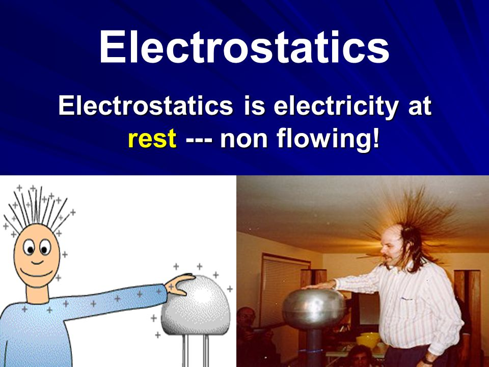 Electrostatics CONTACT : When electrons are transferred from one object to another by direct contact without rubbing.