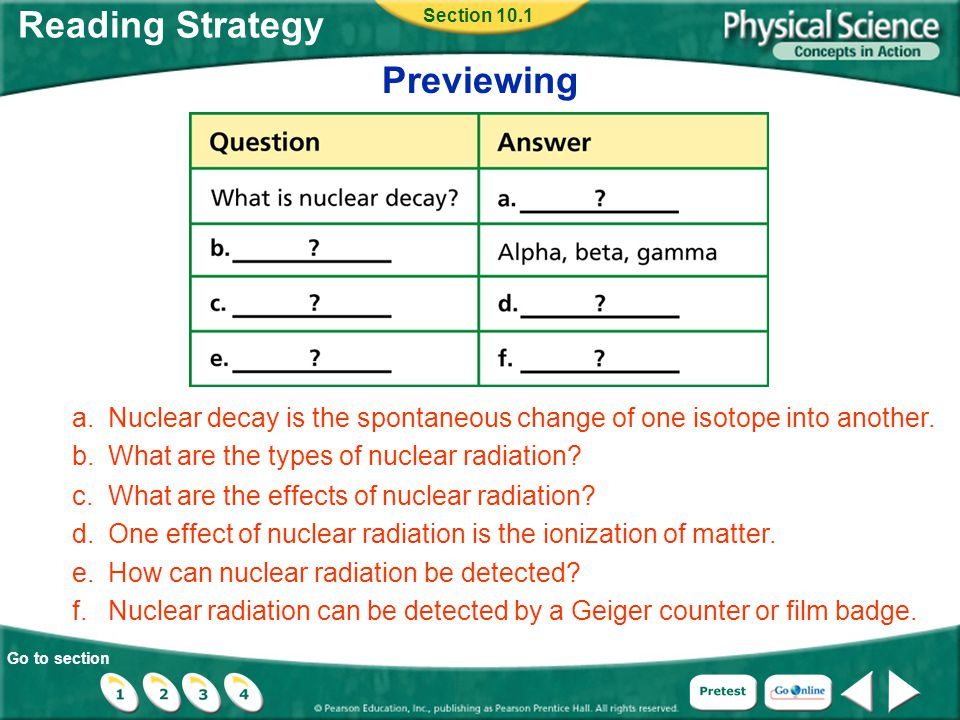 Go to section Interest Grabber Section 10.3 Introduction to Transmutation Examine the diagram below that represents the nuclei of isotopes in a nuclear reaction, and answer the questions that follow.