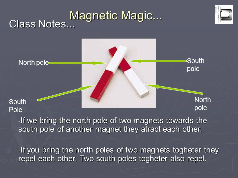 Magnetic Magic...Class Notes...