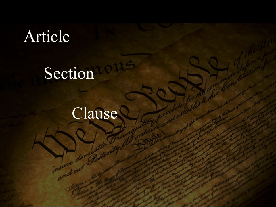 Article I (Legislative Branch) Clause 11 (To declare war) Section 8 (Powers Granted to Congress)
