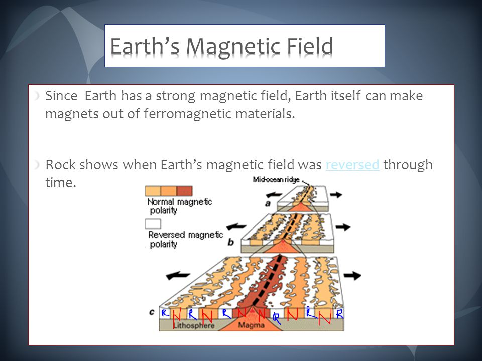 Since Earth has a strong magnetic field, Earth itself can make magnets out of ferromagnetic materials.