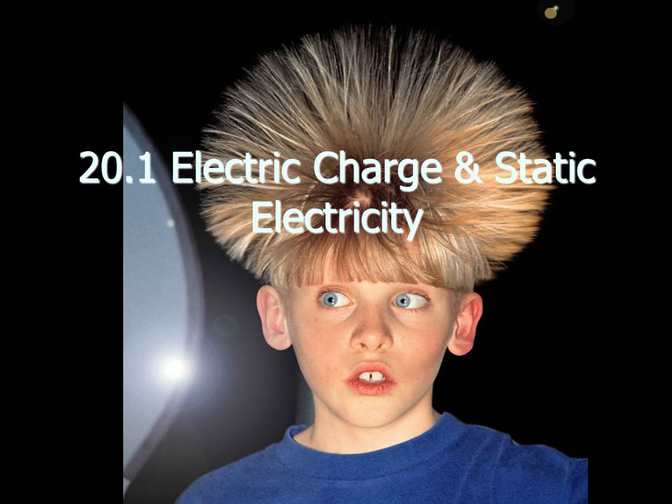 20.1 Electric Charge & Static Electricity