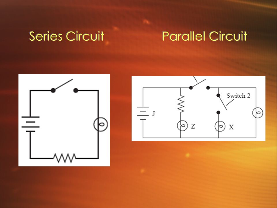 Series Circuit Parallel Circuit