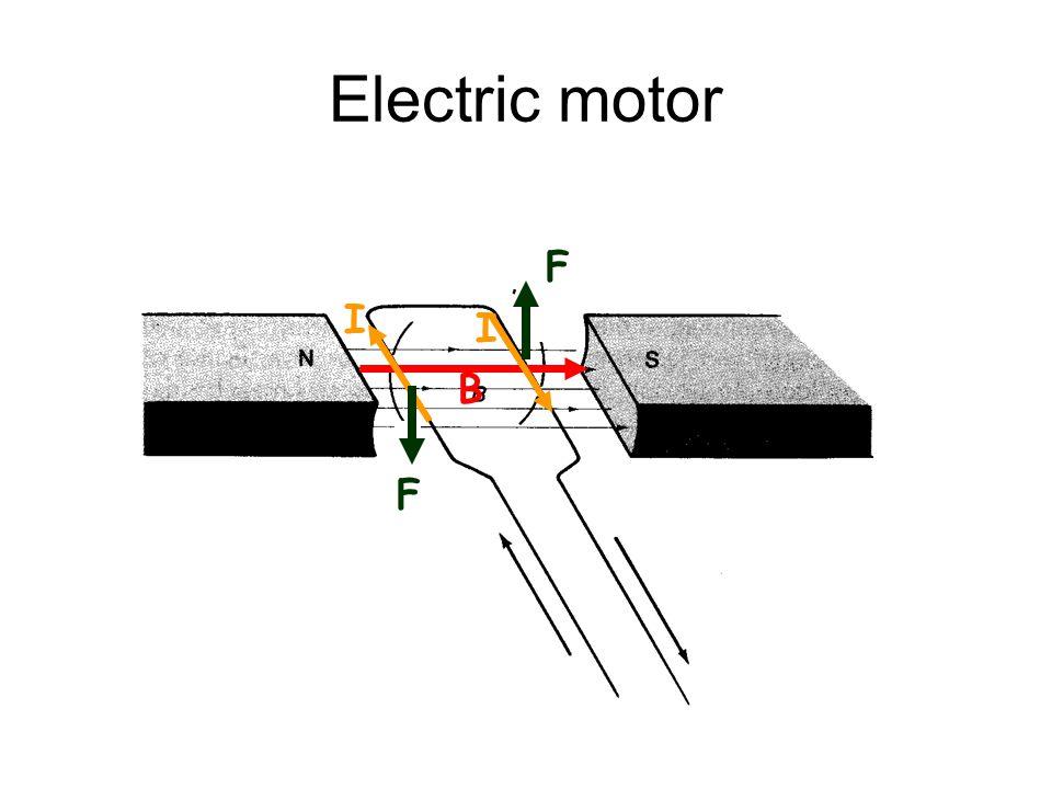 Electric motor I B F I F
