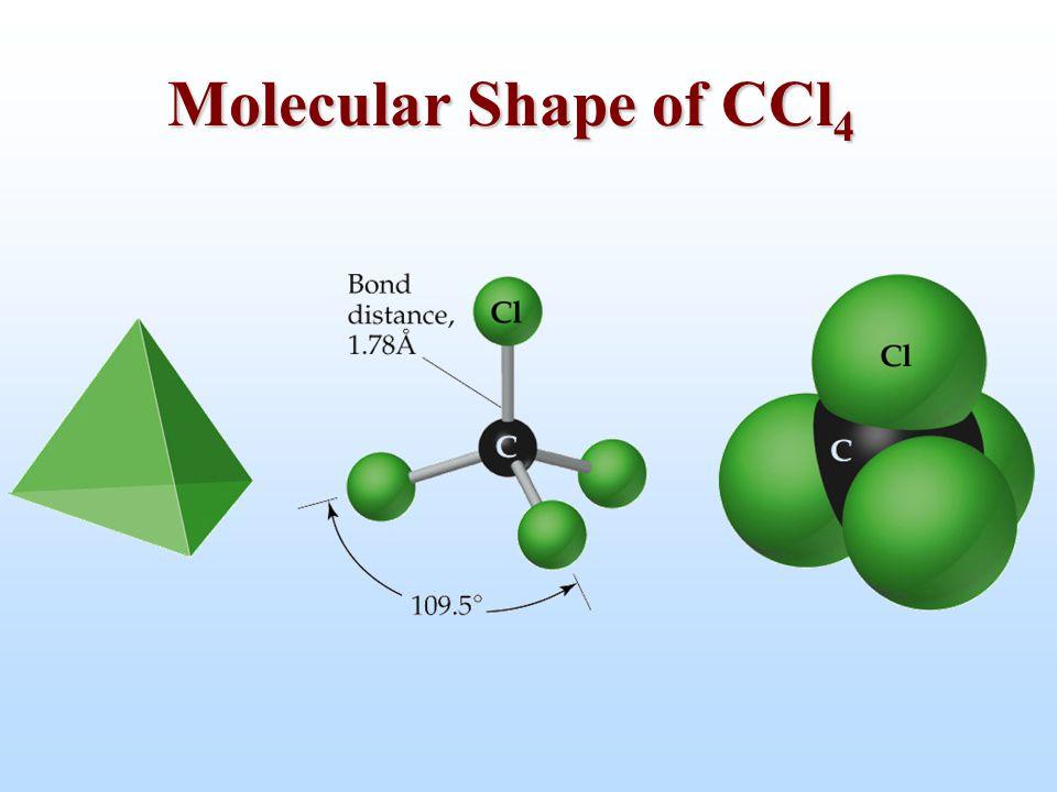 Molecular Shape of CCl 4