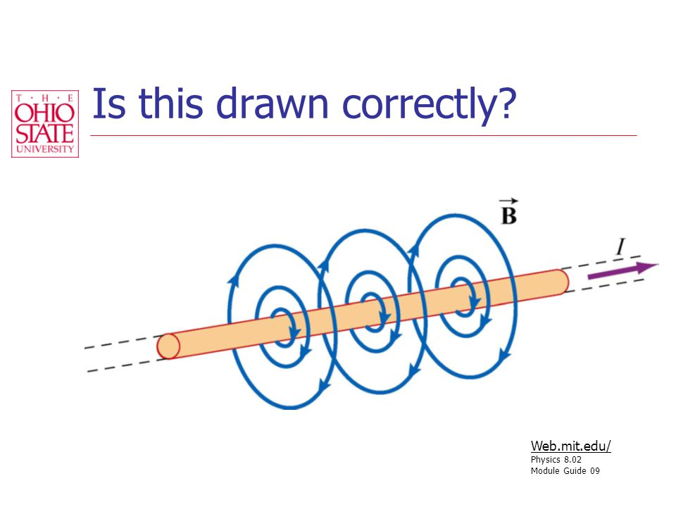 Is this drawn correctly Web.mit.edu/ Physics 8.02 Module Guide 09