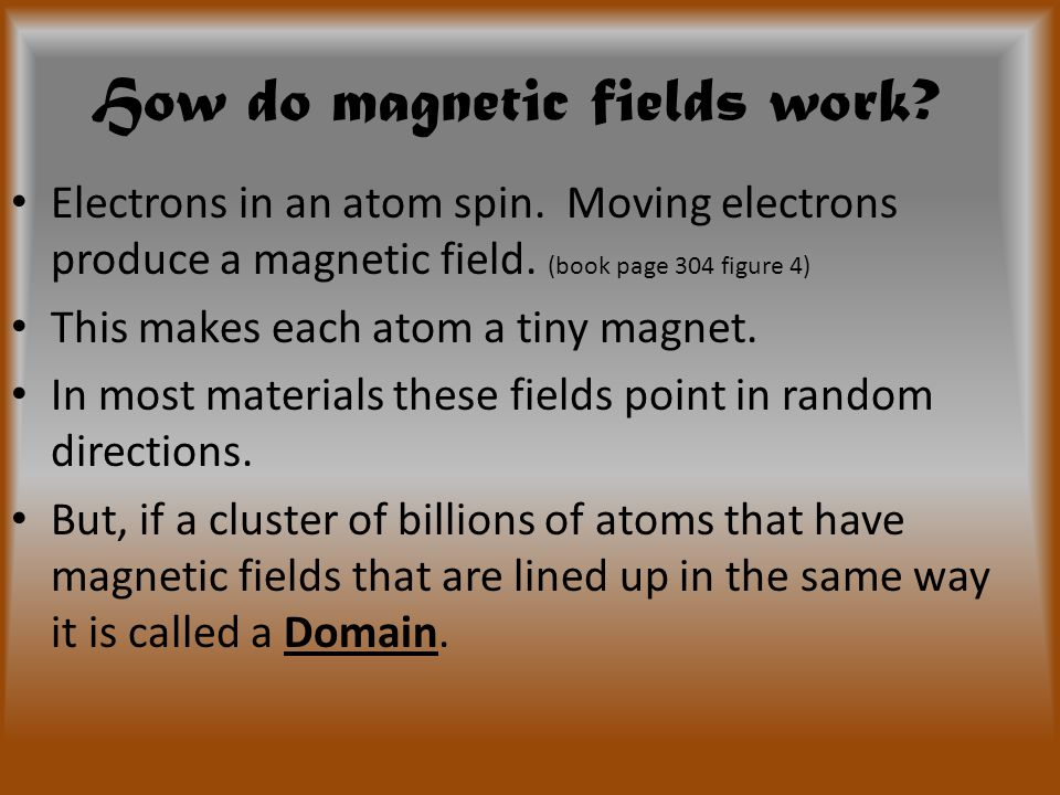 More Magnetic Fields Draw these magnetic fields in your notes: NN NS SS