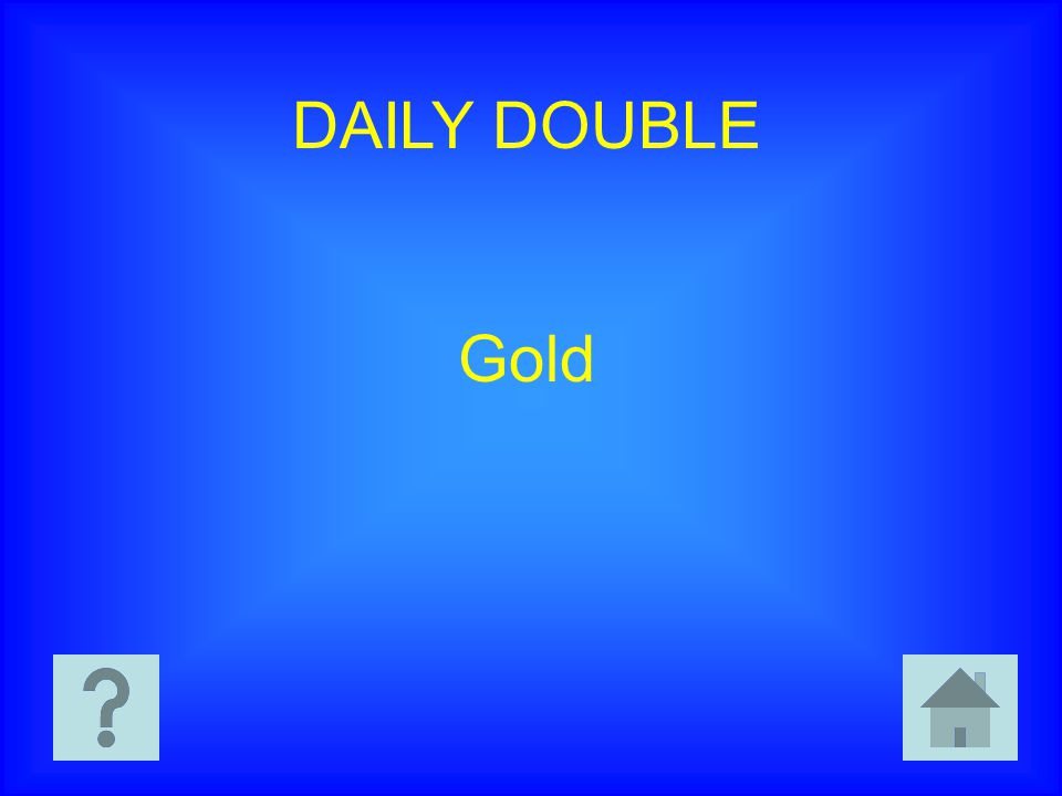 DAILY DOUBLE Gold