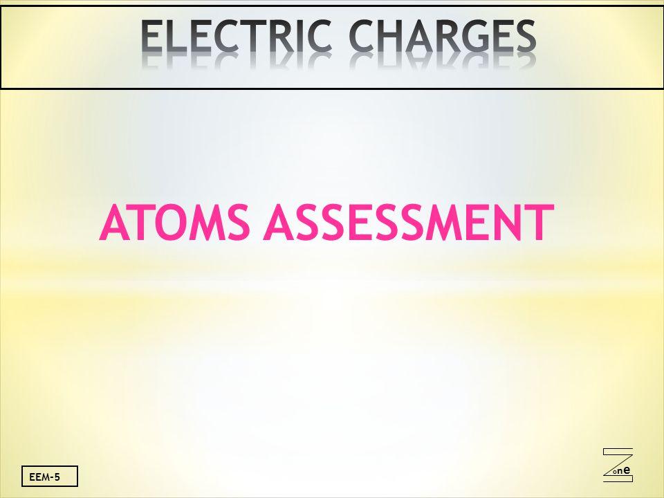 oneone EEM-5 ATOMS ASSESSMENT