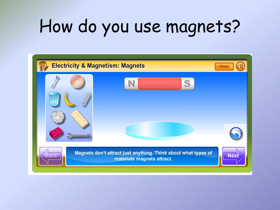 How do you use magnets