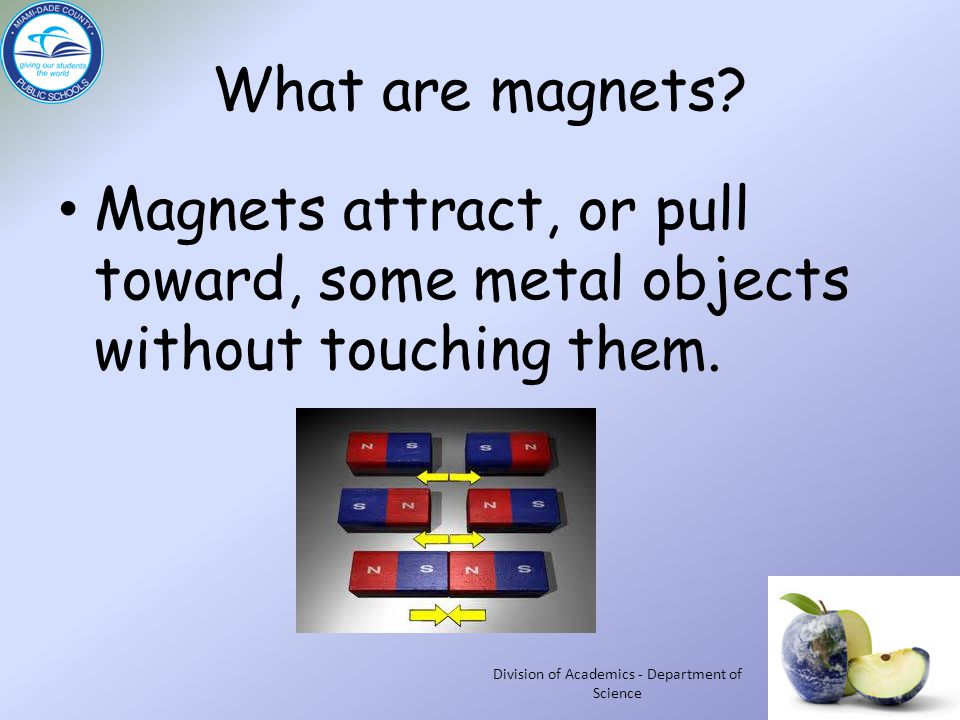What are magnets.