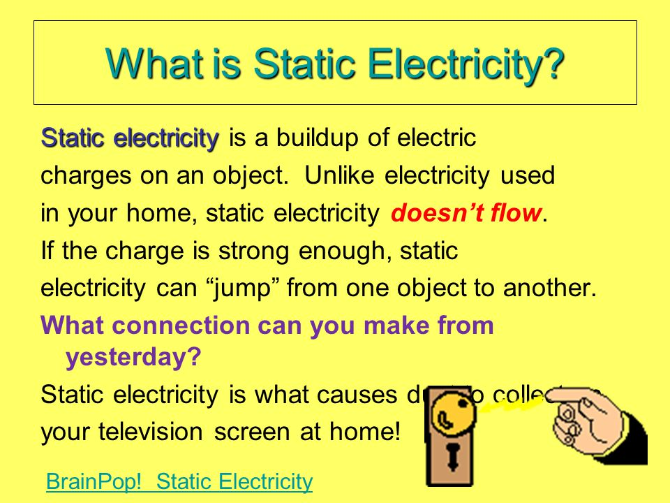 What is Static Electricity.