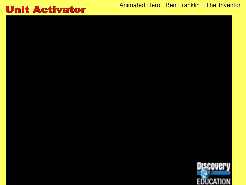 Animated Hero: Ben Franklin…The Inventor