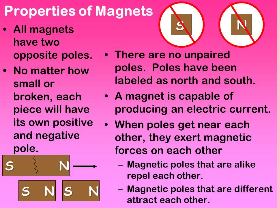 Magic of Magnets - 15 minutesMagic of Magnets Tuesday 5/22/12