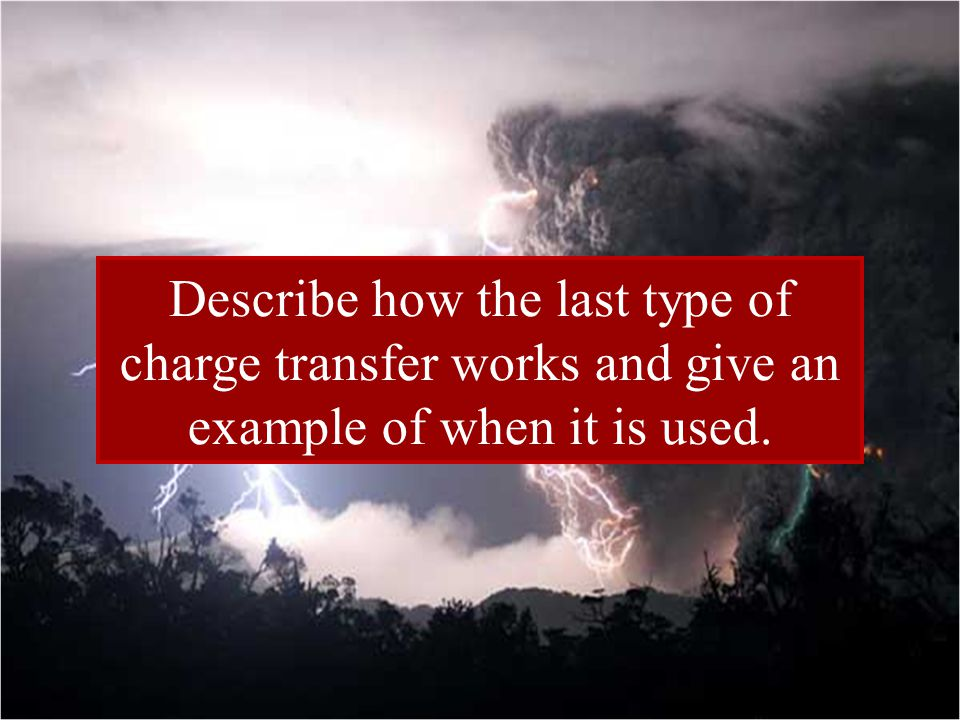 Static Discharge Static Discharge is the loss of static electricity from an object.
