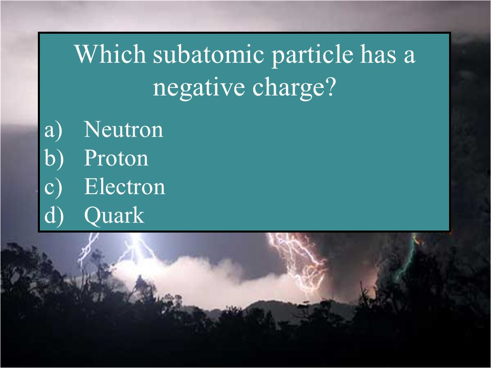 Particle- ulars Share the Charge Static V, I and R, Ohm-y! Potpourri 15 20 30 40