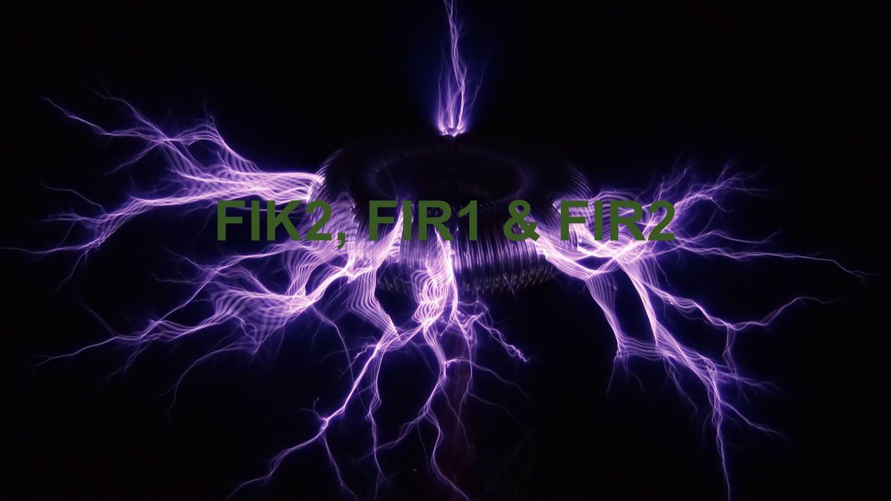 FIK2, FIR1 & FIR2