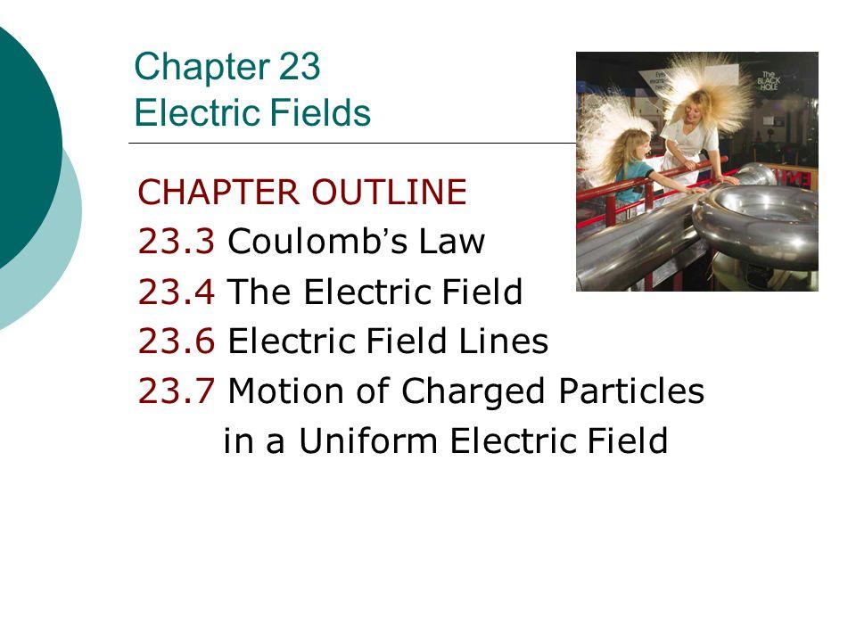 + +- 4.00 m 3.00 m 5.00 m q1q1 q2q2 q3q3 37 o Coulomb's Law: Ex 4