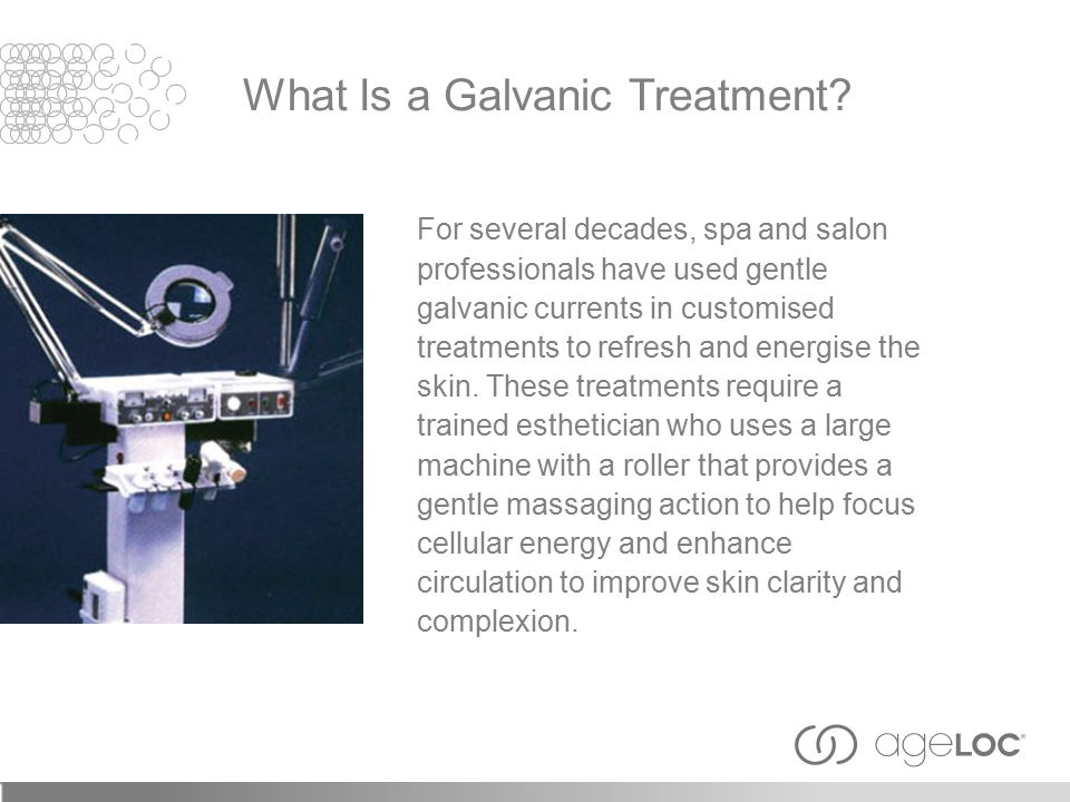 For several decades, spa and salon professionals have used gentle galvanic currents in customised treatments to refresh and energise the skin.