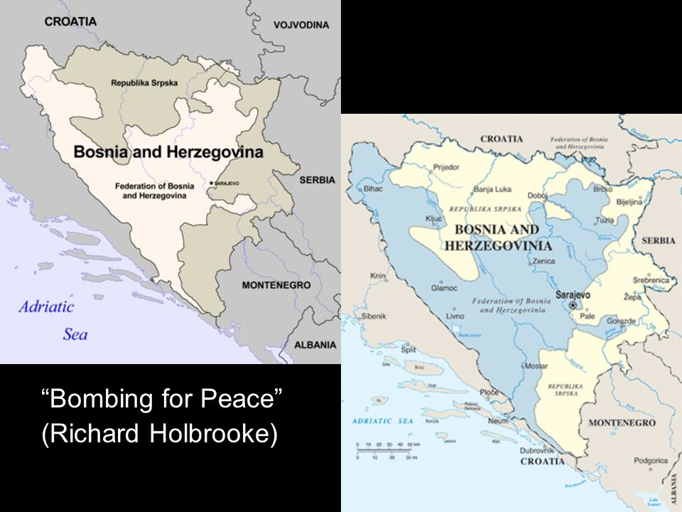 Bombing for Peace (Richard Holbrooke)