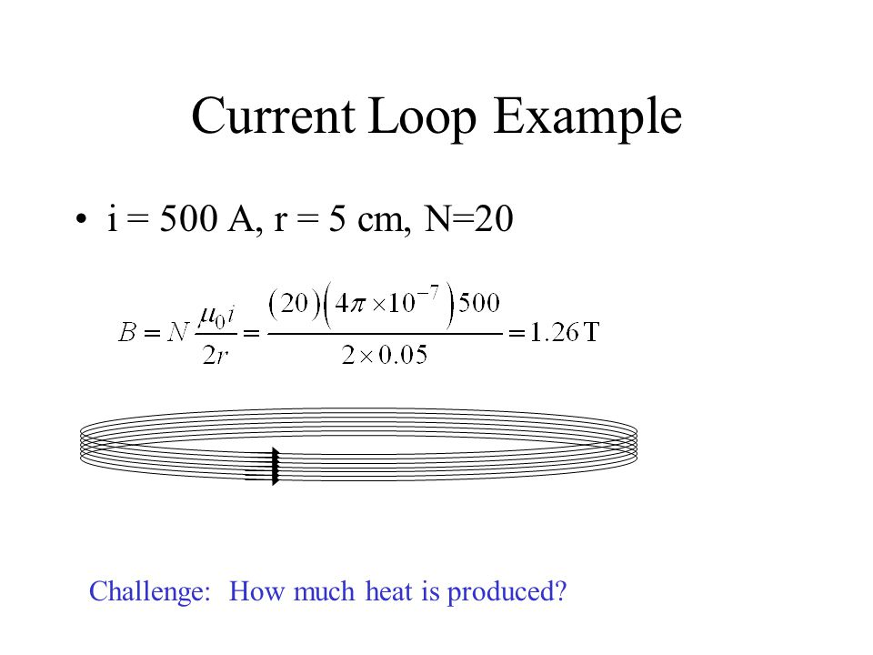Long, straight, parallel wires carry equal currents into or out of page.